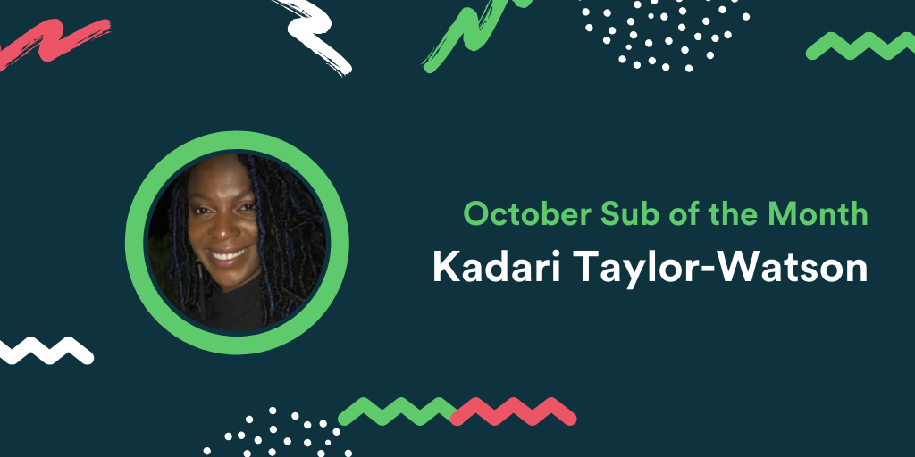 October Sub of the Month